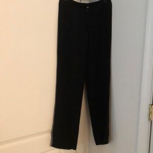Armani Collezioni Romania black dress pants.Size 2